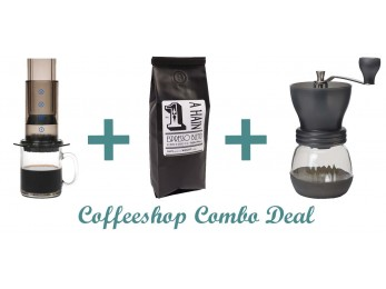 GS002 Gift Set Combo Deal-Aeropress + Coffee + Grinder