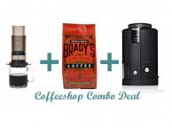 GS004 Gift Set Combo Deal - Aeropress + Grinder + Coffee