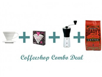 GS006 Gift Set Combo Deal -  Hario V60 01 + Hario Mini + A Hain Coffee + V60 Paper