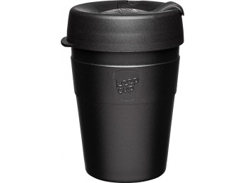 Keepcup 12oz Thermal Black Stainless Steel