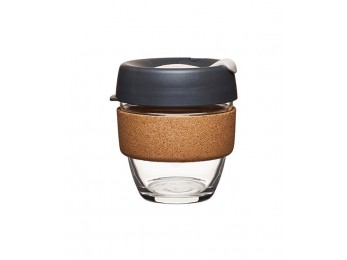 Keepcup 8oz (Small) Brew Glass Cork Press