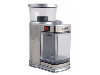 The Electronic Coffee Mill SILVER