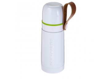 THERMO FLASK White/Lime 350ml