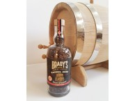 Brady's Coffee Barrel Aged Irish Whiskey Coffee In A Bottle 180g
