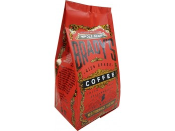 Brady's Coffee Espresso Blend Whole Bean Coffee