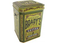 Brady's Coffee Celtic Blend In A Tin 227g Ground Coffee