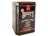 Brady's Coffee Barrel Aged Irish Whiskey Coffee 227g Whole Bean Tin
