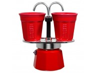 BIALETTI 2 CUP MINI EXPRESS RED
