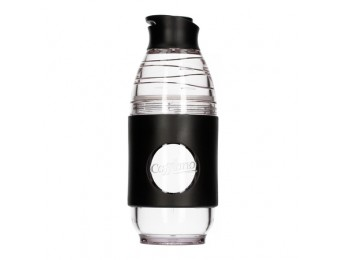 Cafflano® Go-Brew, a Portable Brewing Bottle Black