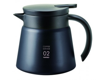 Hario Heat resistant server 2 cup Black