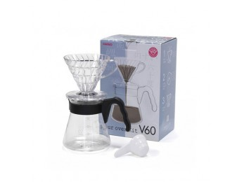 Hario V60 Pourover Set Black 02