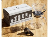 Hario V60 Glass Coffee Brewing Kit Black Clear 02