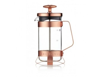 Barista & Co 3 Cup Plunge Pot - Electric Copper