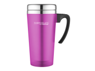 Thermos ThermoCafé Soft Touch Travel Mug Pink 0.4L