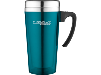 Thermos ThermoCafé Soft Touch Travel Mug Lagoon 0.4L