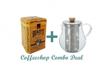 GS010 Gift Set Combo Deal - Bradys loose leaf tea and teapot.