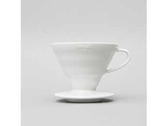 Hario V60 02 White Ceramic Dripper