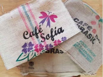 5 X Genuine Hessian Coffee Sack